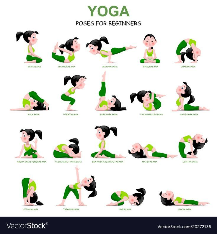 Poses De Yoga Para Iniciantes Easy Yoga Workouts Easy Yoga Poses Relaxing Yoga