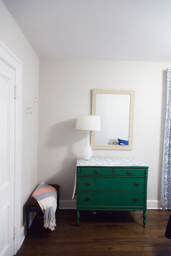 Bedroom Décor - The Parish House - Airbnb located in Racine