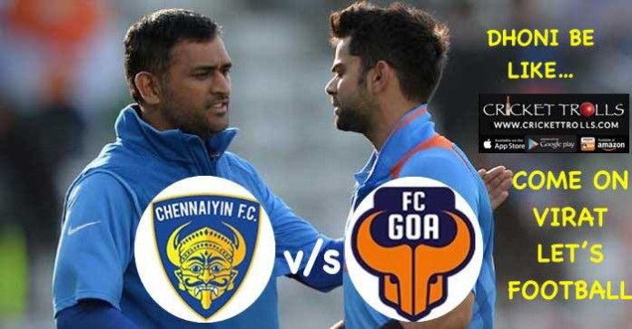 chennaiyin fc vs fc goa ISL 2015   #ISL2015   #ViratKohli   #MSDhoni   http://www.crickettrolls.com/2015/12/20/chennaiyin-f-c-vs-fc-goa-isl-2015/