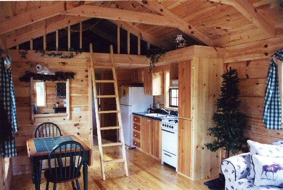 Inside Tiny Houses Park Model Log Cabin Breckenridge