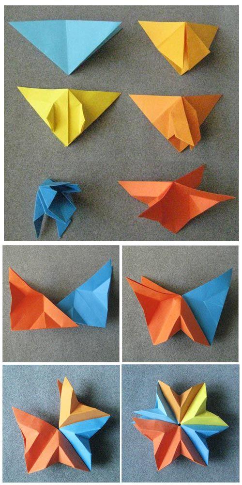 Modular Origami Star for Christmas -a Variation  steps-star-original.jpg (500×1000)