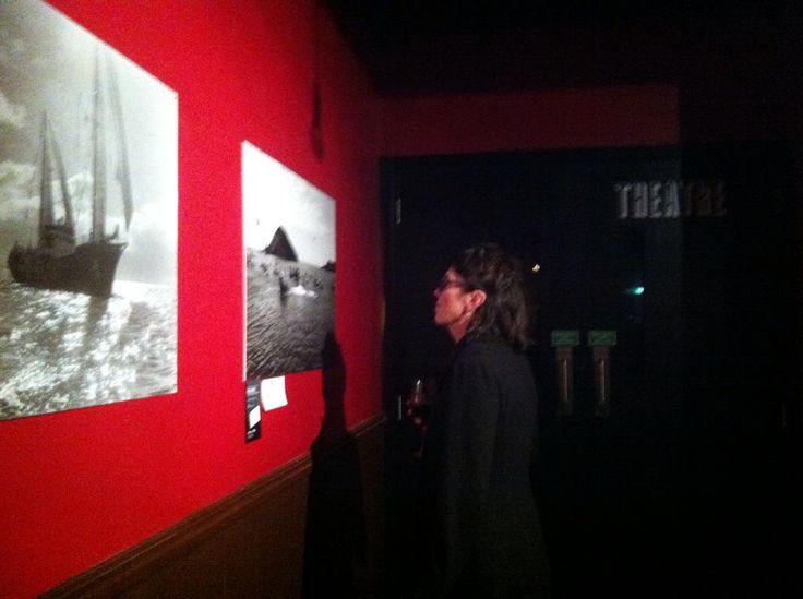 As our wonderful opening night wrapped up @GreenpeaceNZ 's bunny mcd takes in some memories. Kia kaha