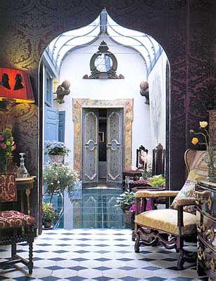Moroccan doorway in Marrakesh.