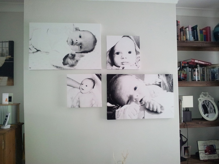 Personalised canvas prints - all these images were taken on a mobile phone. to have yours done view: www.matchcanvasart.com