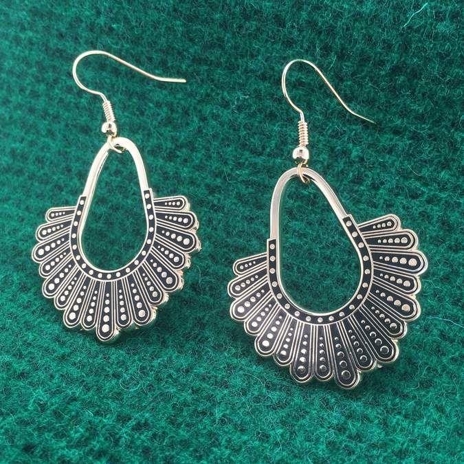 Dissent Collar Chandelier Earrings Earrings Shop Earrings Chandelier Earrings