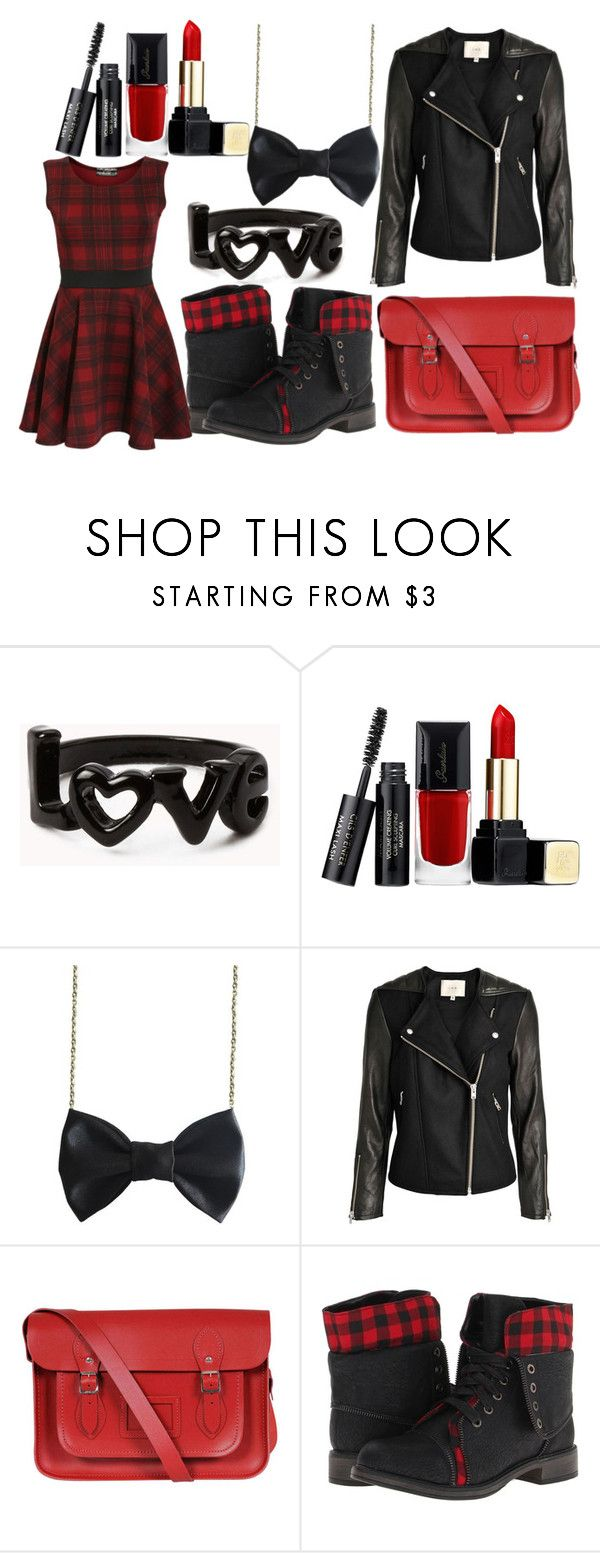 """Outfit 310"" by carlou863 ❤ liked on Polyvore featuring Forever 21, Guerlain, Freena, The Cambridge Satchel Company and Skechers"