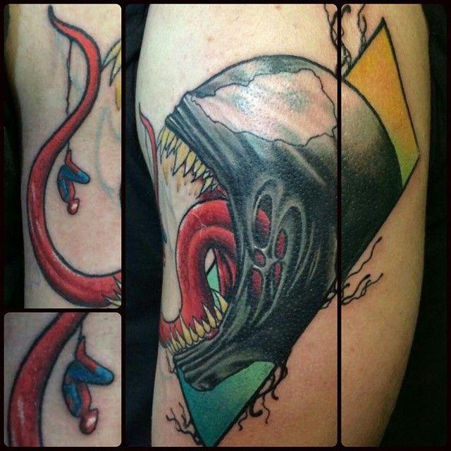 15 mustsee venom tattoo pins venom marvel venom and