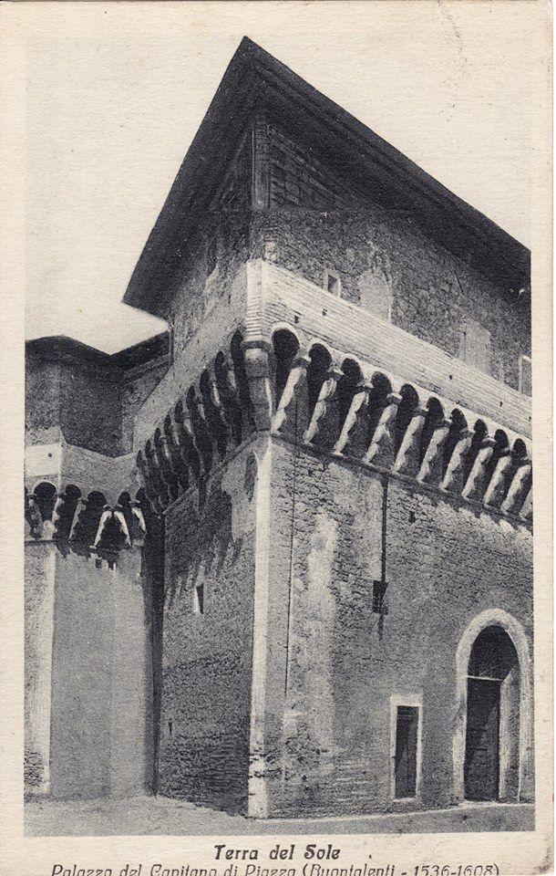 Castello del Capitano della Piazza o del Governatore in una foto d'epoca - Terra del Sole