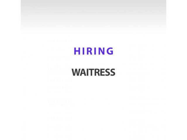 Required Experienced Waitress Salad Maker Real Estate Services