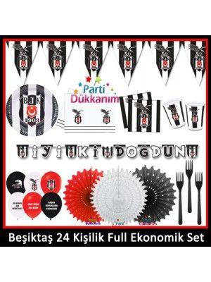 Beşiktaş 24 Kişilik Ekonomik Full Parti Seti