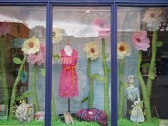 easter store window displays | Our Spring window design! | work---window & store remodel ideas