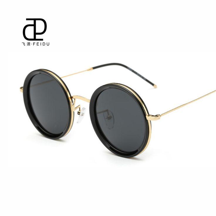 FEIDU 2016 Fashion Round Polarized Sunglasses Men Retro Brand Designer Steampunk Goggle Vintage Women Sun Glasses Oculos de sol #clothing,#shoes,#jewelry,#women,#men,#hats,#watches,#belts,#fashion,#style
