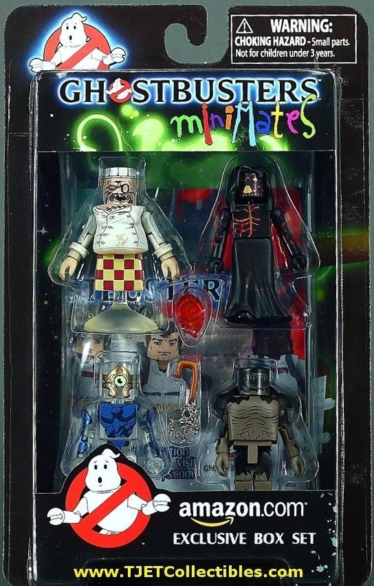 Ghostbusters Game Ghosts Minimates Amazon Exclusive 4-Pack MIP Diamond Select #DiamondSelect