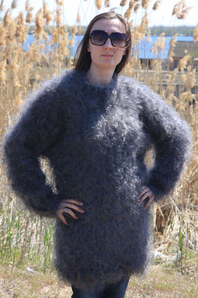 Mohair Wool Sweater