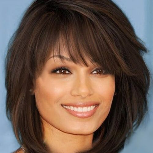 spike hair style images best 25 shaggy layered bobs ideas only on 7228