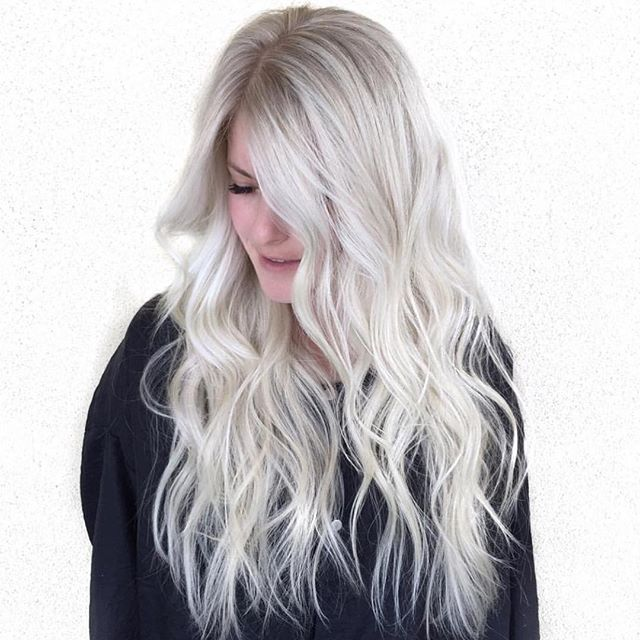 long hair styles brunette icy waves by habit stylist hairbymarissasue hair 2704 | 905fbb7ff217b3cd3c3de92ba2704ad0 blonde waves icy blonde