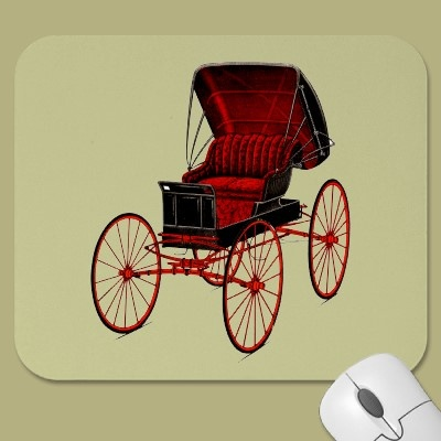 Buggies and Carriages Mouse Pad by remicallens