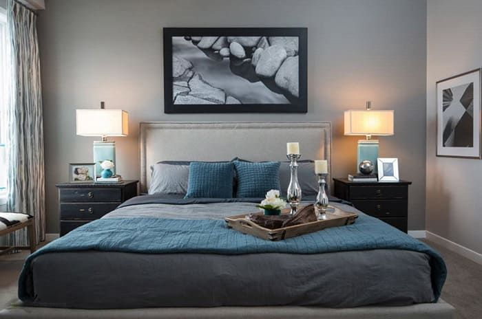 30 Ideas Para Pintar Y Decorar Una Habitación Gris Tu Habitación Perfecta Habitaciones Grises Habitación Gris Decoracion Dormitorio Matrimonio