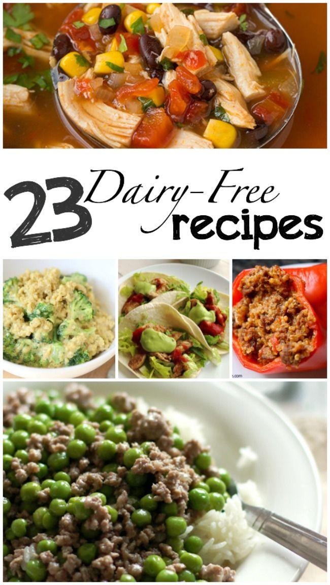 23 Dairy Free Recipes