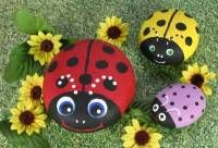 Pet rocks Rock!  Free How To Paint Rocks Instructions