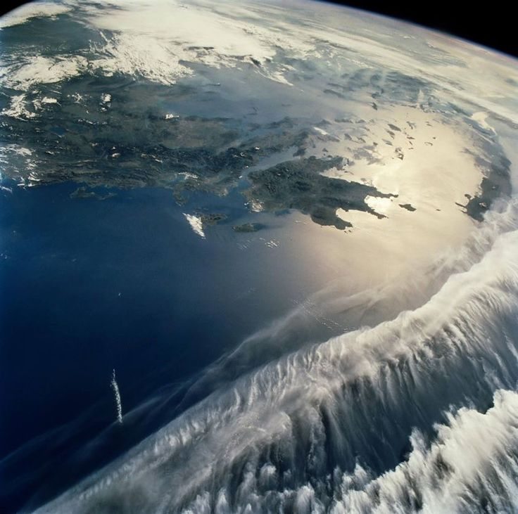 Greece as seen from the International Space Station