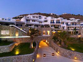 Santa Marina Resort and Villas in Greece: Private Infinity, Marina Resorts, Santa Marina Mykonos, Villas Greece, Favorite Places, Luxury Collection, Mykonos Hotels, Luxury Villa, Lobbies Entrance