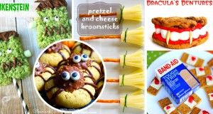 Last updated: 18-08-2016 1. Halloween Treat : Cheese and Pretzel Broomsticks Put some savory in your Halloween platter this year with these gorgeous little witches' brooms. In search of something with a little less sugar, then these cute little cheesy pretzel broomstick snacks are more than perfect for you ! They are fast and easy …