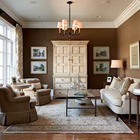 Living Room Design Ideas, Pictures, Remodels And Decor. Traditional ...