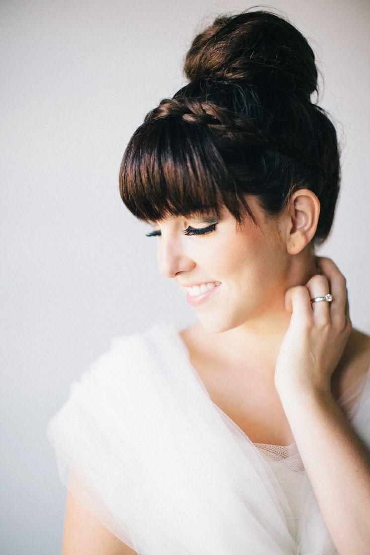 Hair and Make-up by Steph: Fall Hair Trend #3: Braided Band High Bun
