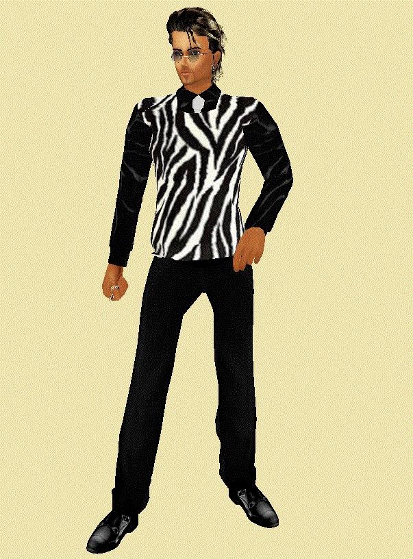 Zebra Print Sweater 55