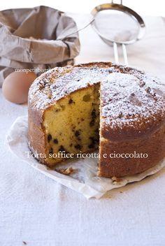 Torta soffice ricotta e cioccolato | Mon petit bistrot