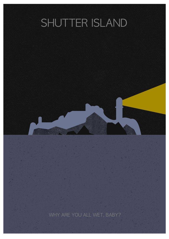 best shutter island ideas leonardo dicaprio  shutter island alternative movie poster by sam jean projects
