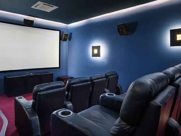 Villa a Marbella dove rilassarsi guardando un film
