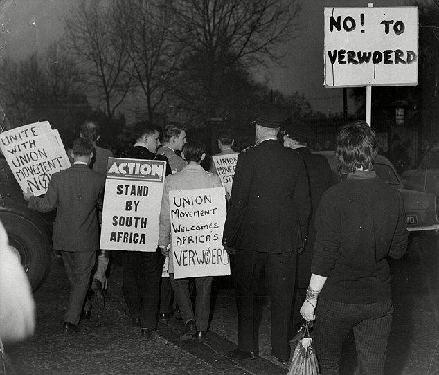 Resistance against Verwoerd Apartheid polices.