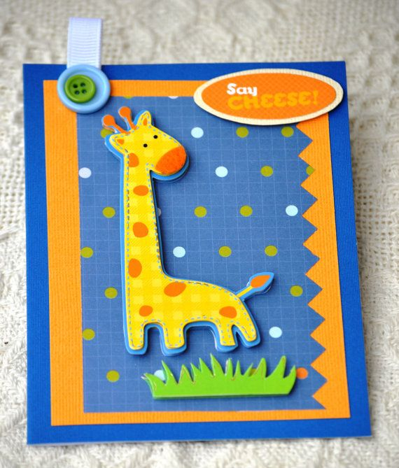 125 best kids birthday cards images on pinterest kids cards handmade blank kids birthday baby card made out of chipboard sticker cute giraffe by papersimplicity bookmarktalkfo Gallery