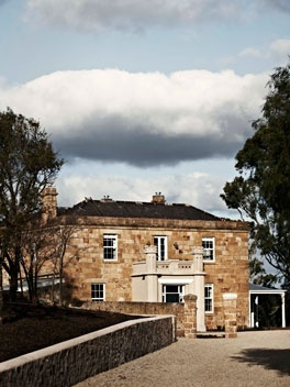 162-year-old Seppeltsfield Winery in the Barossa Valley, South Australia. ~ Australian Gourmet Traveller.