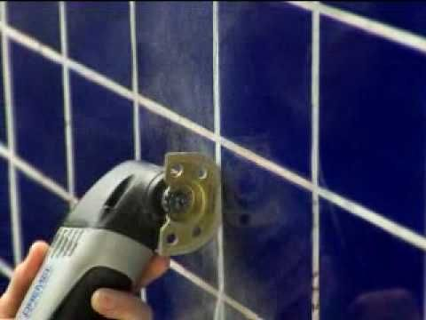 Removing Grout with the Dremel Multi-Max