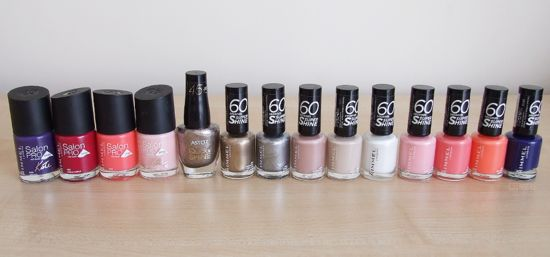 Rimmel & Astor Nail Polishes