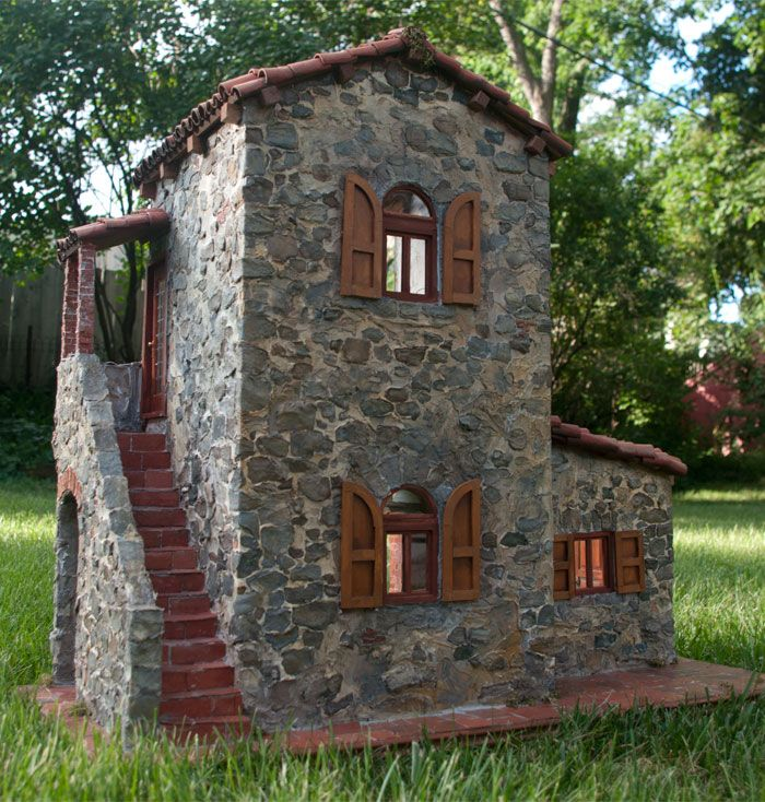 70 Best Dollhouse Mediterranean Farmhouse Images On Pinterest