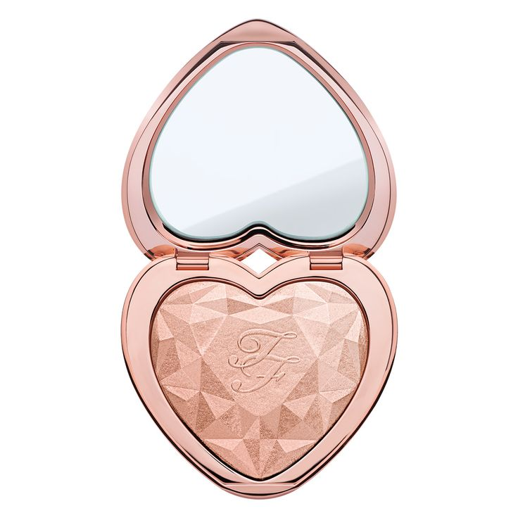 Get an unparalleled look and shine bright with the new Love Light Highlighter by Too Faced. It is sure to brighten your day and night, so you GLOW girl!