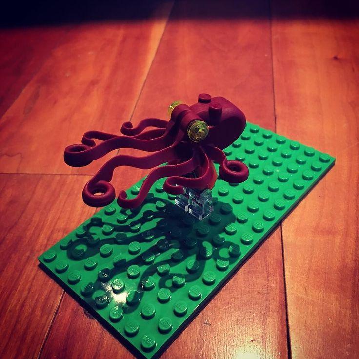 Lego Cthulhu #cthulhu #digitalnomad #travel #lego #canada #newfoundland