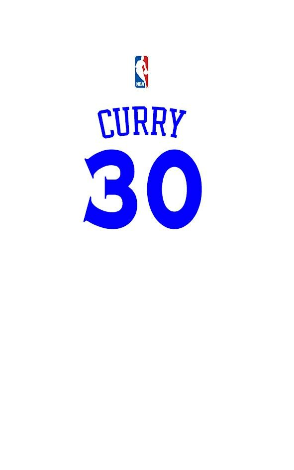 Stephen curry home jersey