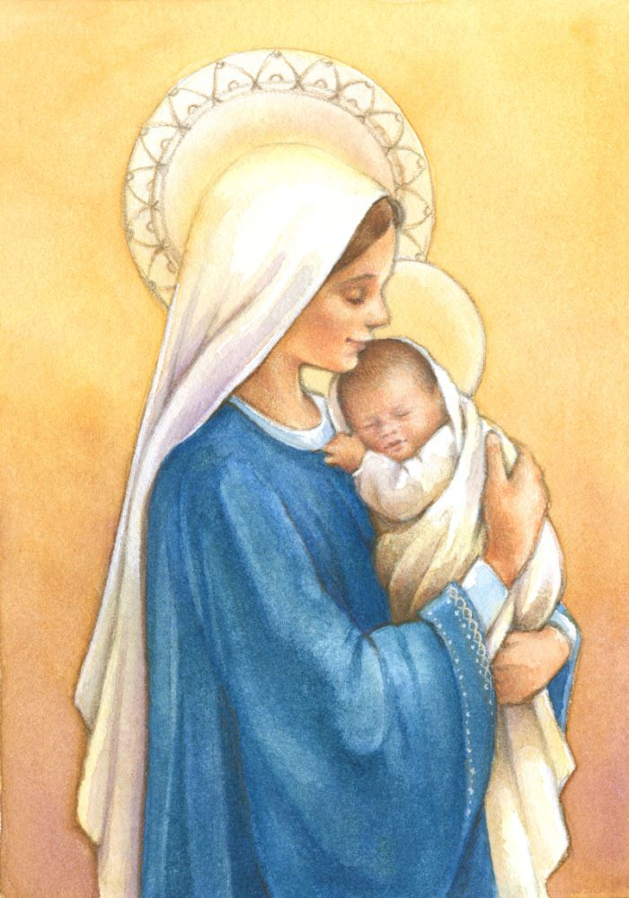 Lisa Alderson - LA - Madonna And Child2