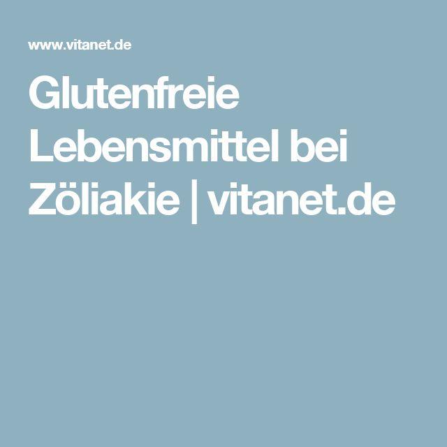 Glutenfreie Lebensmittel bei Zöliakie | vitanet.de