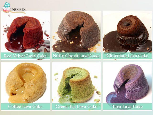 Nikmati kelezatan 6Pcs Molten Lava Cake hanya dengan Rp. 80.000
