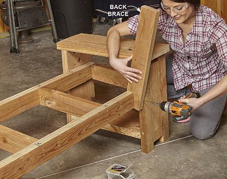 17 best ideas about wooden bench plans on pinterest wood bench plans diy bench and wooden benches - Wooden balcony design ideas perfect harmony ...