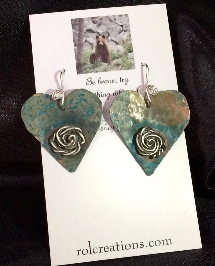 Copper Hearts by cindymarie