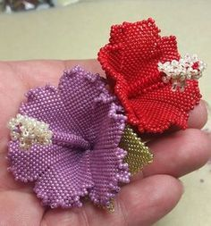 IBISCO tecnica tessitura di perline weaving by GraziellaMalara