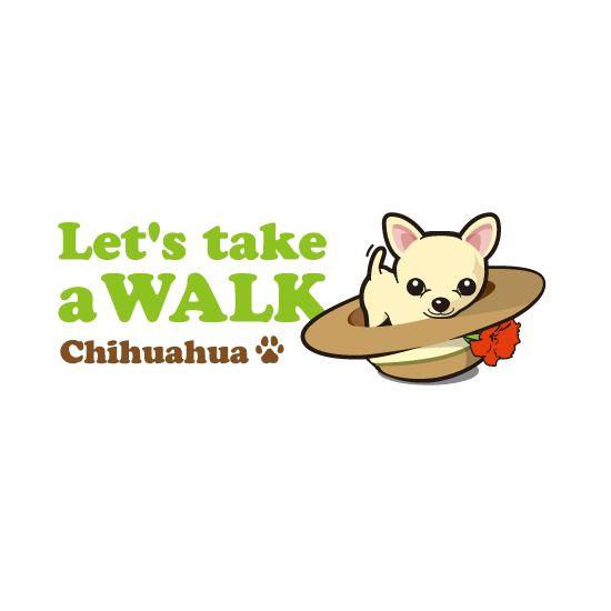 チワワの犬種のイラストが入ったチワワ好きの飼い主のための犬のデザインTシャツの販売ページ
