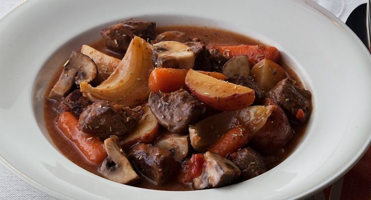 Tuscan Beef Stew with Mushrooms Recipe | McCormick Gourmet Gourmet